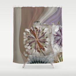 Tetramethylammonium In The Altogether Flower  ID:16165-130225-89480 Shower Curtain
