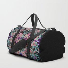 Mandala Colorful Boho Duffle Bag