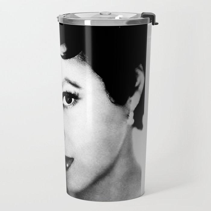 dorothy dandridge black & white photo Travel Mug
