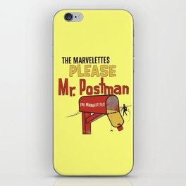 Mr. Postman iPhone Skin