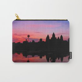 Angkor Wat Sunrise Reflection Carry-All Pouch