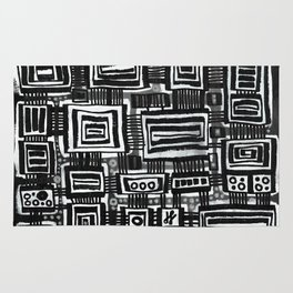 """""""Silence and Darkness"""" Rug"""