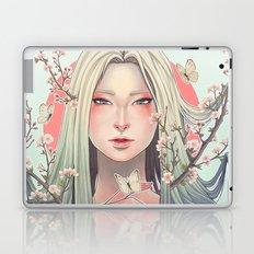 sakura and butterflies Laptop & iPad Skin