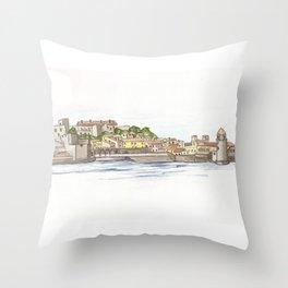 Collioure Throw Pillow