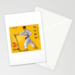 1965 RYUKYUS Karate Postage Stamp Stationery Cards