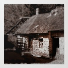 Little Barn Canvas Print