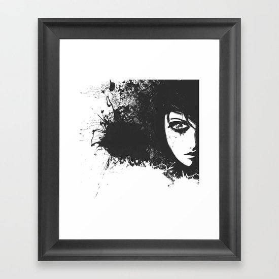 Lost Feelings Framed Art Print