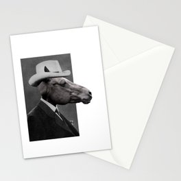 HORSE FACE Stationery Cards