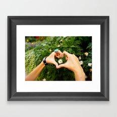 A little stem of Love Framed Art Print