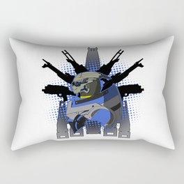 The Great Calibrator Rectangular Pillow