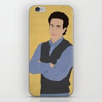 seinfeld iPhone & iPod Skins featuring Jerry Seinfeld // Seinfeld // Graphic Design by Dick Smith Designs