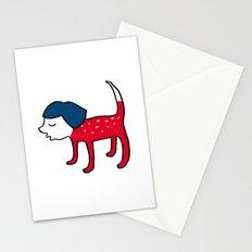 Dog-girl Stationery Cards