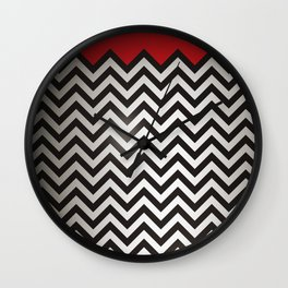 The Red Room Wall Clock