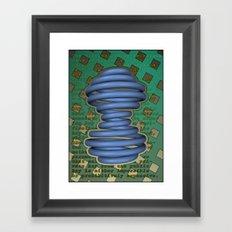 Public Encryption Framed Art Print