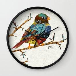 Twilight Bird 2 Wall Clock