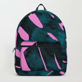 Composition tropical leaves XI Backpack