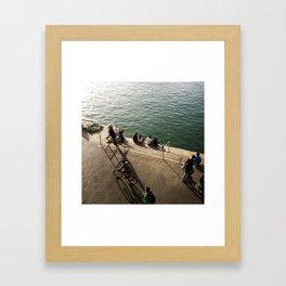 T E L  A V I V Framed Art Print