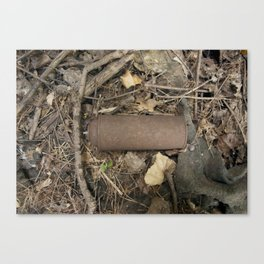 Rusty Can, 2012. Canvas Print
