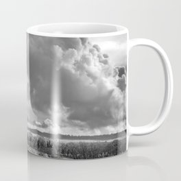 Towering Clouds Over Wiltshire Coffee Mug