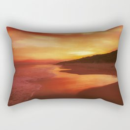 Autumn sunrise Rectangular Pillow
