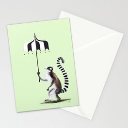 Ring Tailed Lemur Stationery Cards