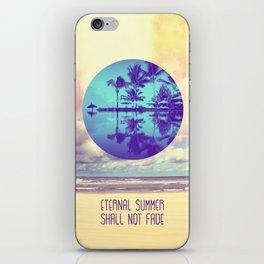 Eternal Summer -Beach- iPhone Skin