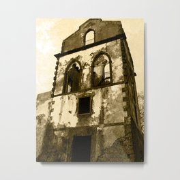 House in ruins Metal Print