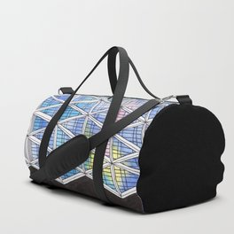Architecture triangles Duffle Bag