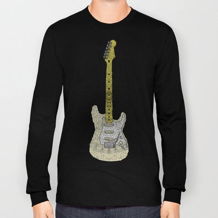 White Strat Long Sleeve T-shirt