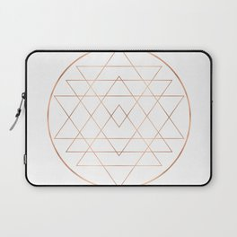 Dream All, All Dream - Rose Gold Copper Laptop Sleeve