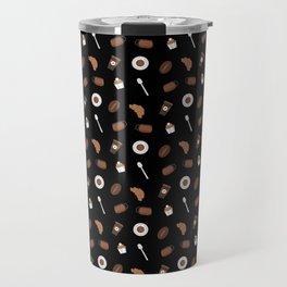 Pattern of morning coffee Travel Mug
