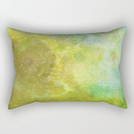 The Light at the End of the Tunnel is Obscured. Rectangular Pillow