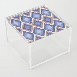 Ikat Pattern Acrylic Box
