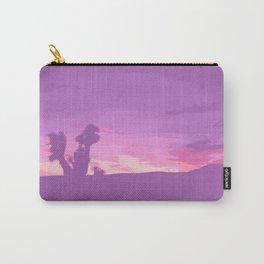 Lavender Joshua Sunset - Pop_Art Carry-All Pouch