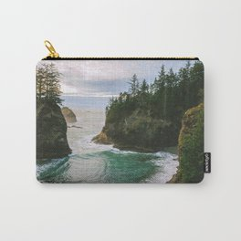 Hidden Cove on the Oregon Coast Carry-All Pouch