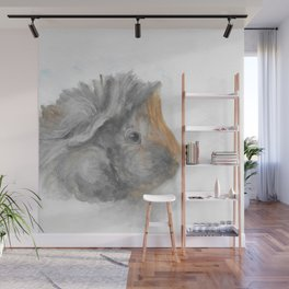 Veggie the Guinea Pig Wall Mural