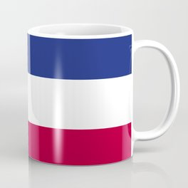 Costa Rica flag emblem Coffee Mug