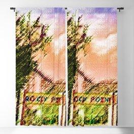 Rocky Point Amusement Park - Warwick RI Portrait - Jéanpaul Ferro Blackout Curtain