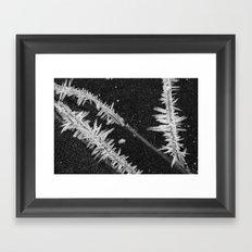 Icy Days NO2 Framed Art Print