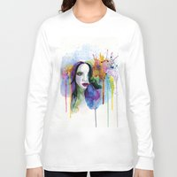 eternal sunshine Long Sleeve T-shirts featuring Eternal sunshine by YOUMEECHO  ILLUSTRATION STUDIO