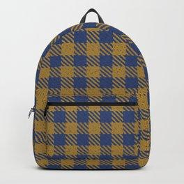 Abercrombie, Alpine, Resolution Blue, Camel, Plaid Backpack