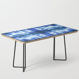Lapis Shibori Stripe Coffee Table