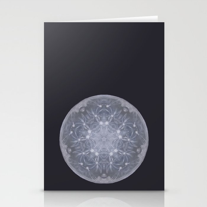 Snow Moon Stationery Cards