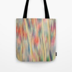 Spring Fling -- Abstract Floral Tote Bag