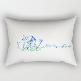 Ella's Forget-Me-Nots Rectangular Pillow