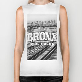 Bronx New York 'New Yawhk' Est. 1788 Biker Tank