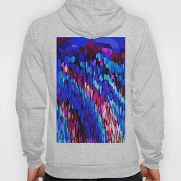 Blue Waves of Rain  #1 Hoody