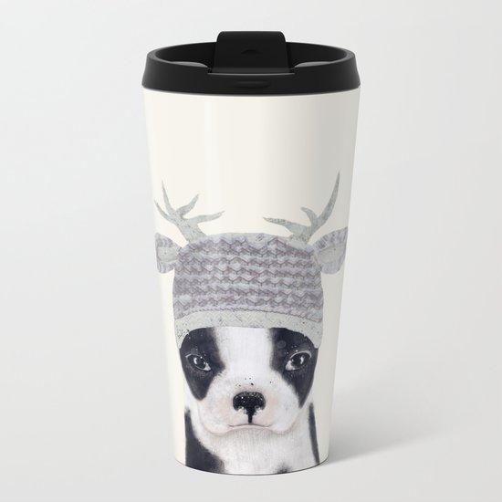 little boston ohh deer Metal Travel Mug