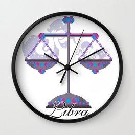 Starlight Libra Wall Clock