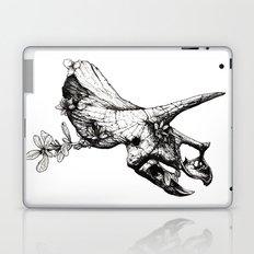 Jurassic Bloom - The Horned. Laptop & iPad Skin